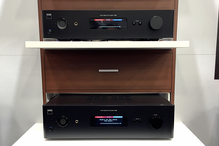 NAD C 388 and C 368